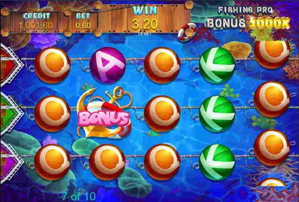 Fishing Pro สล็อตออนไลน์ จาก UFA Game บนมือถือ
