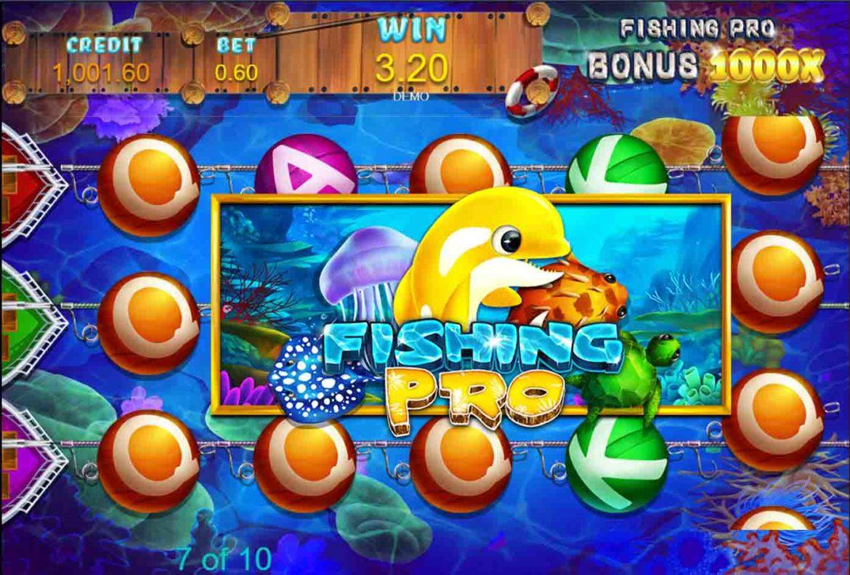 Fishing Pro เกมสล็อตตกปลาออนไลน์ เกมใหม่มาแรงจาก UFA Slot